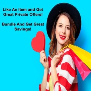Other - Like & Get Private Offers, Bundle & Great Savings
